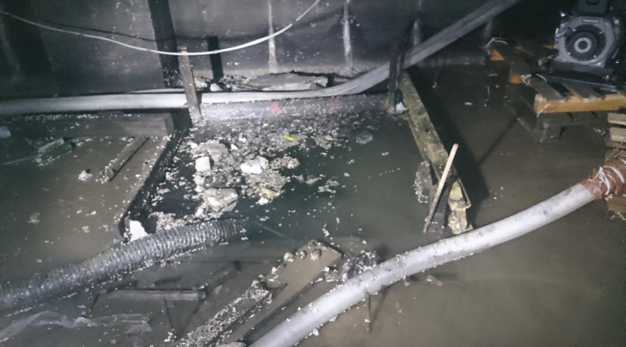Откачка воды ЖК Академ Палас
